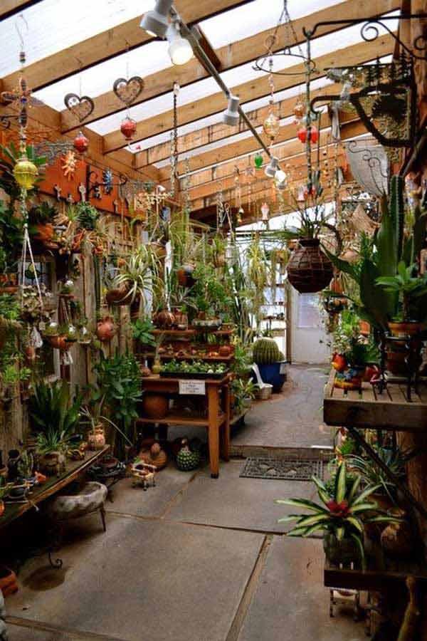 ιδέες στολισμού κήπου στο μποέμικο στυλ13