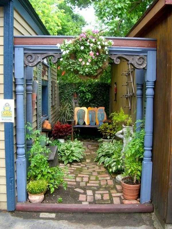 ιδέες στολισμού κήπου στο μποέμικο στυλ21