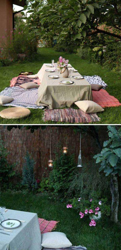 ιδέες στολισμού κήπου στο μποέμικο στυλ23