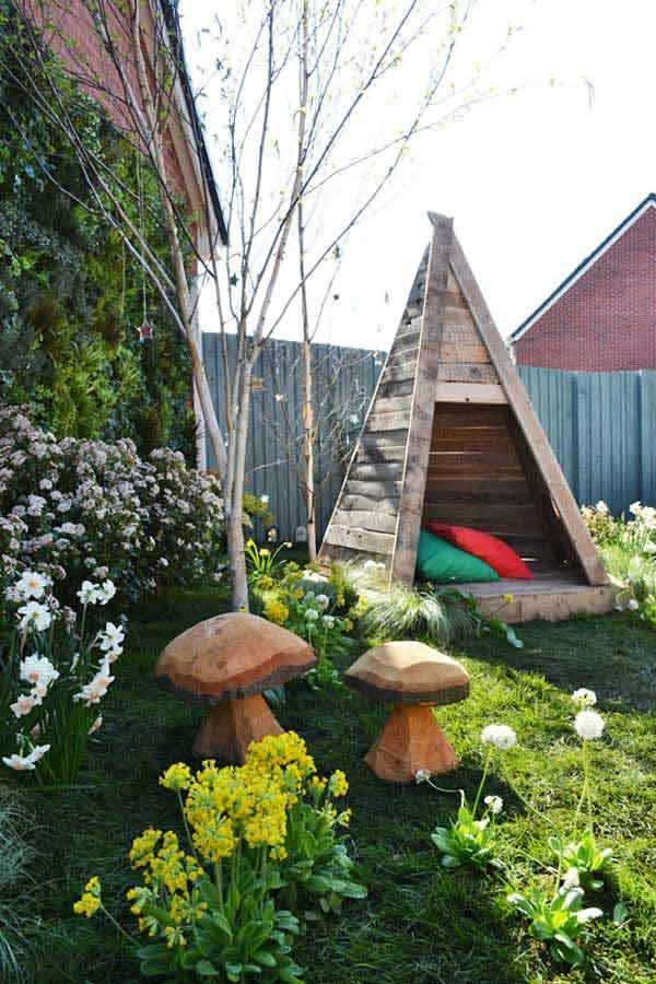 ιδέες στολισμού κήπου στο μποέμικο στυλ7