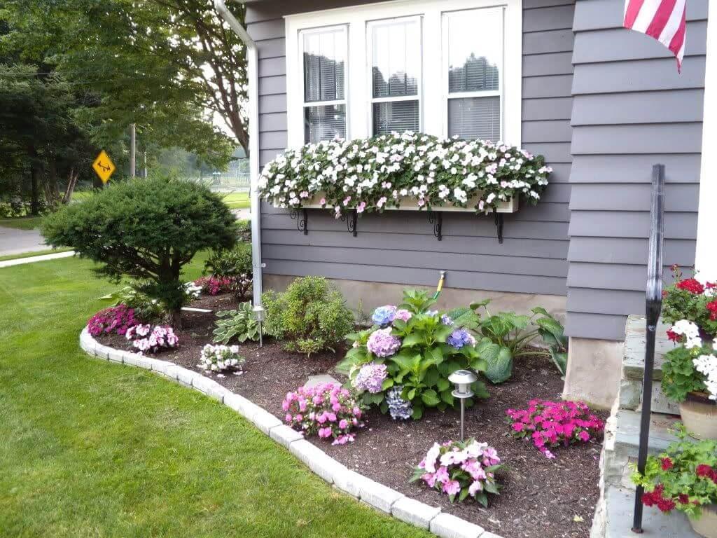 ιδέες σχεδιασμού μπροστινού κήπου και αυλής1