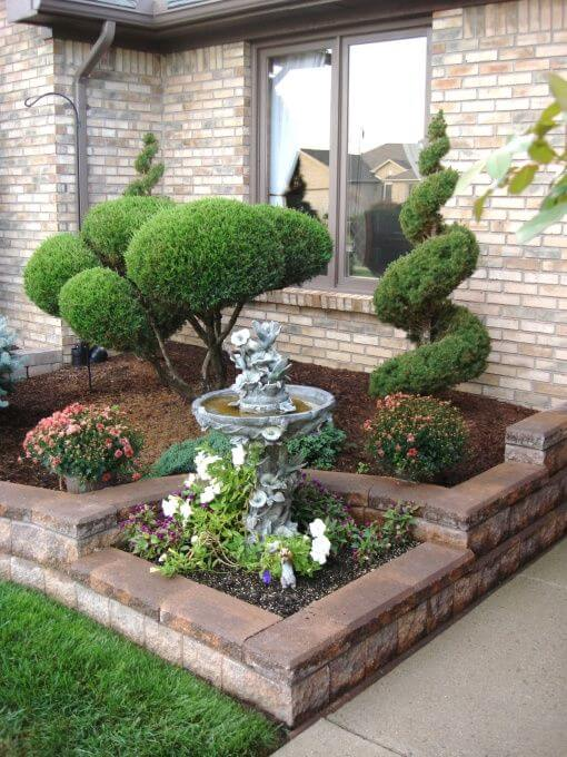 ιδέες σχεδιασμού μπροστινού κήπου και αυλής17