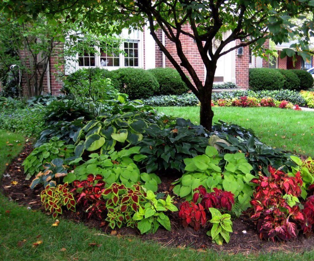 ιδέες σχεδιασμού μπροστινού κήπου και αυλής23