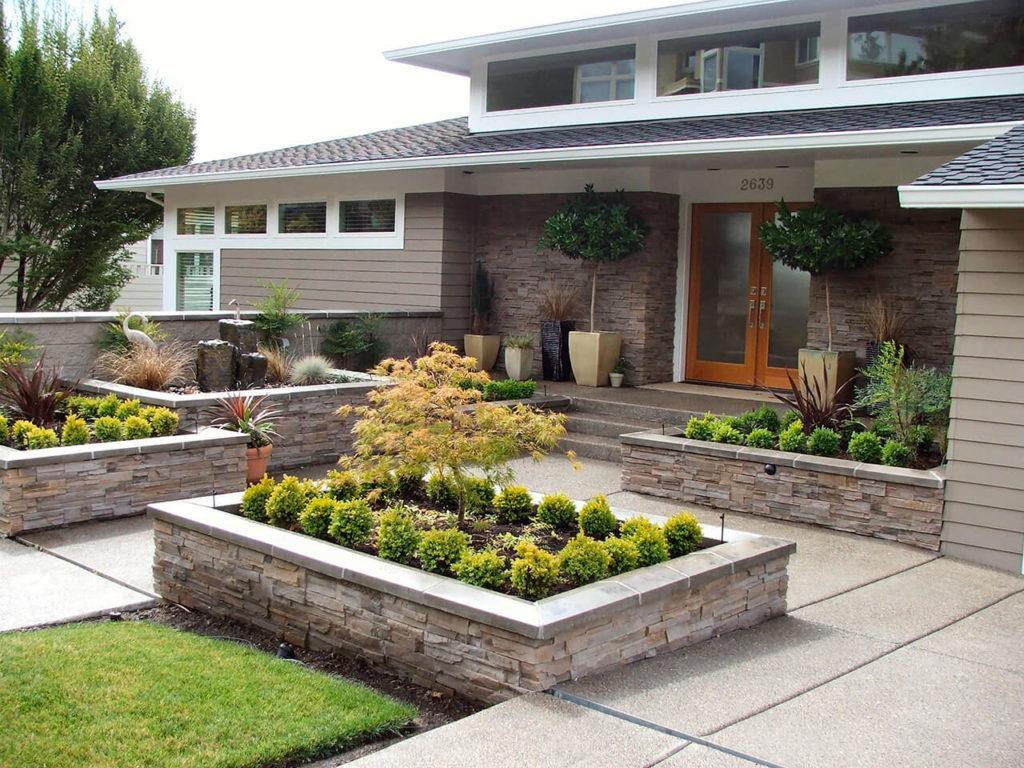 ιδέες σχεδιασμού μπροστινού κήπου και αυλής26