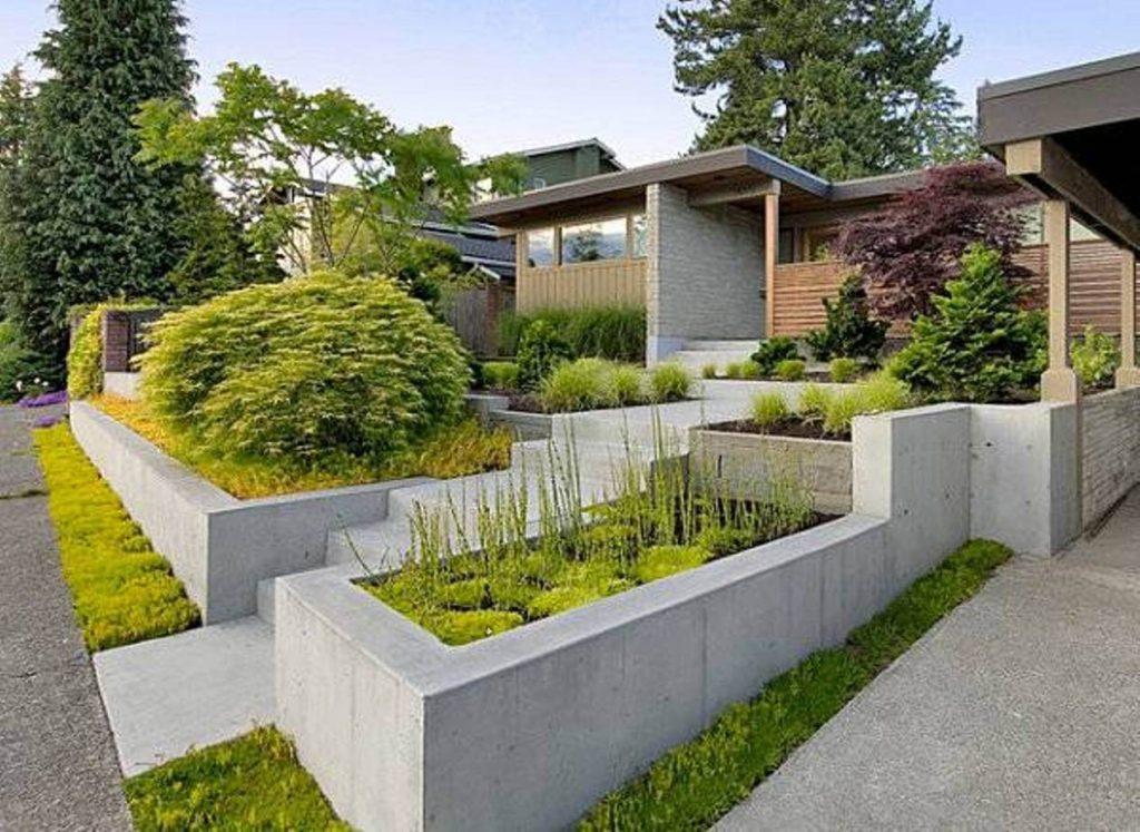 ιδέες σχεδιασμού μπροστινού κήπου και αυλής32