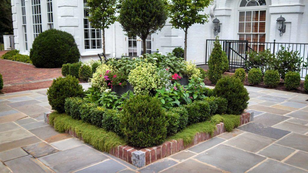ιδέες σχεδιασμού μπροστινού κήπου και αυλής43