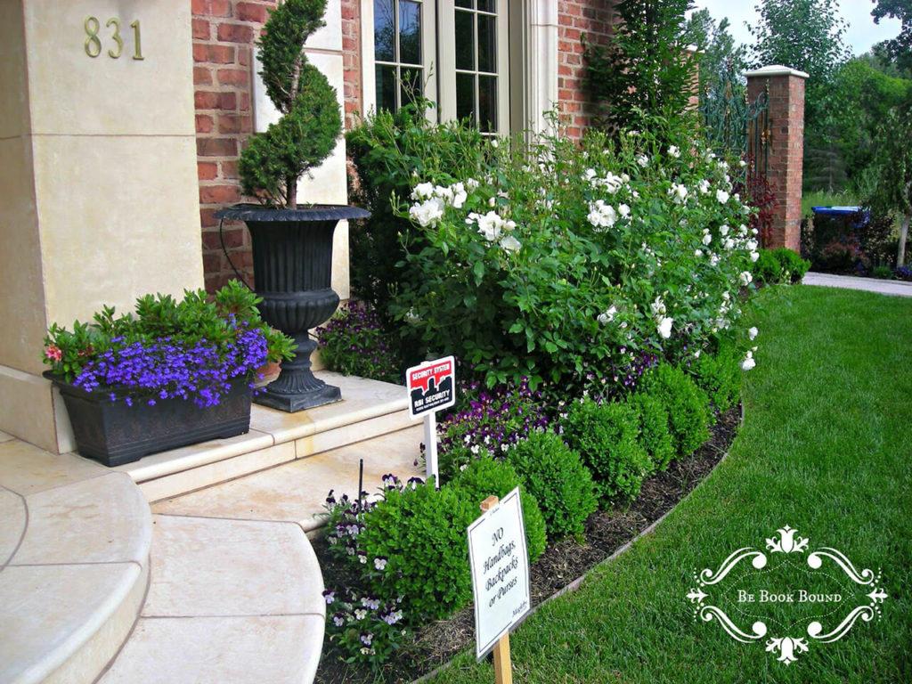 ιδέες σχεδιασμού μπροστινού κήπου και αυλής45