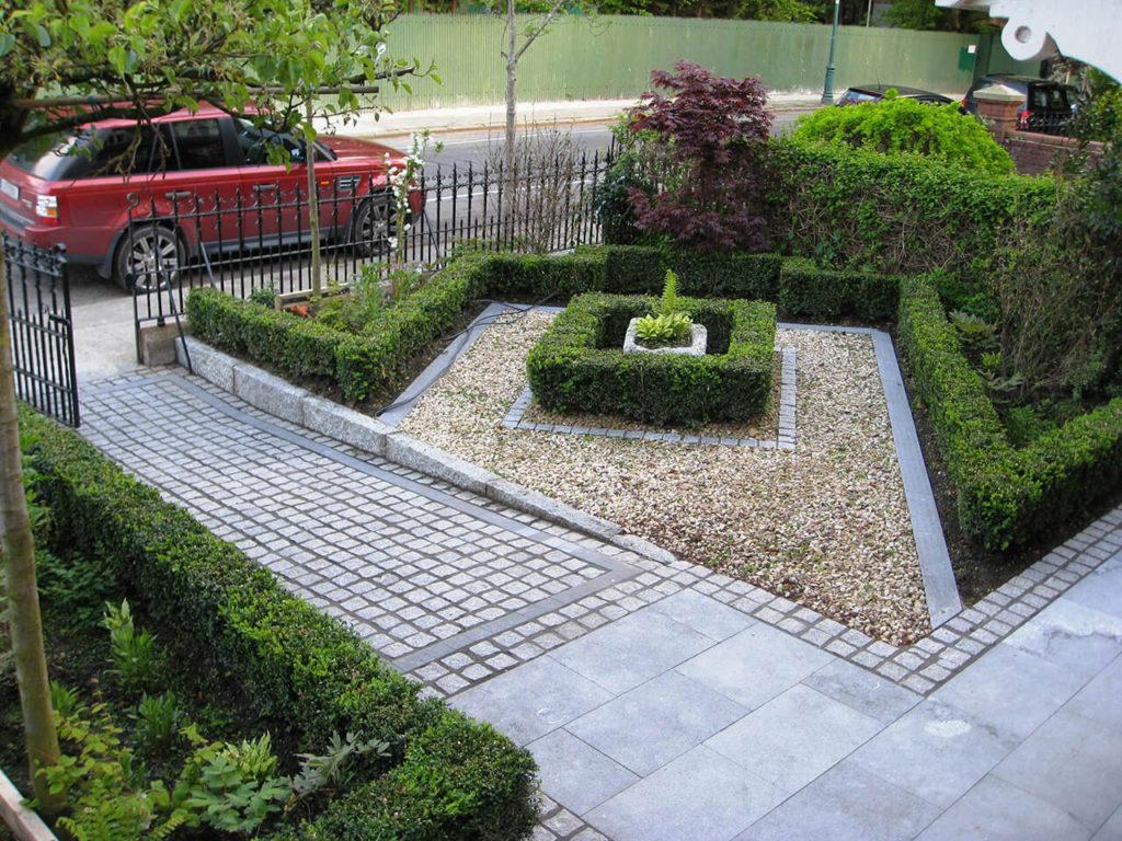 ιδέες σχεδιασμού μπροστινού κήπου και αυλής46