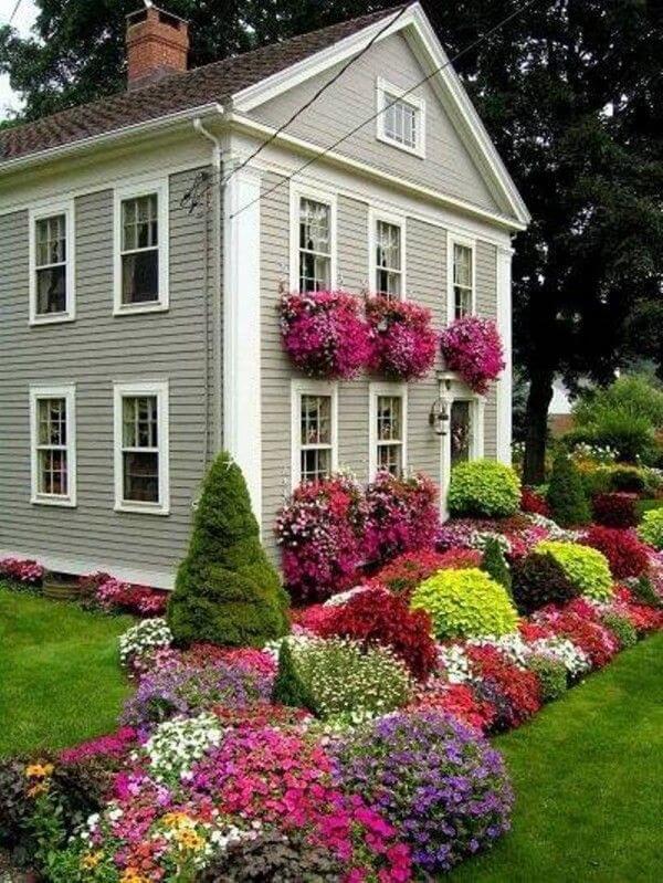 ιδέες σχεδιασμού μπροστινού κήπου και αυλής5