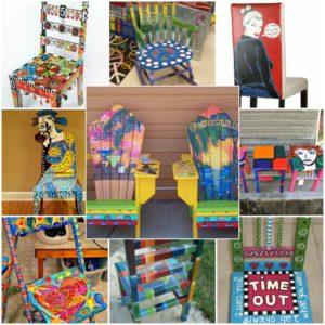 πώς να διακοσμήσετε και να βάψετε παλιές καρέκλες