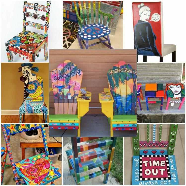 42 ιδέες επαναχρησιμοποίησης για το πώς να διακοσμήσετε και να βάψετε παλιές καρέκλες