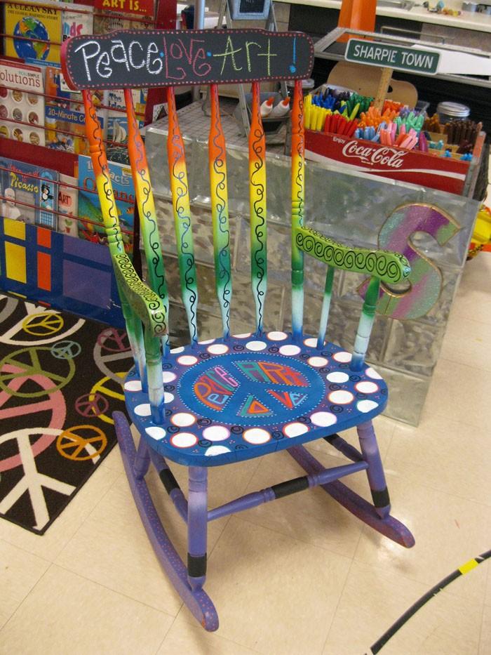 πώς να διακοσμήσετε και να βάψετε παλιές καρέκλες1