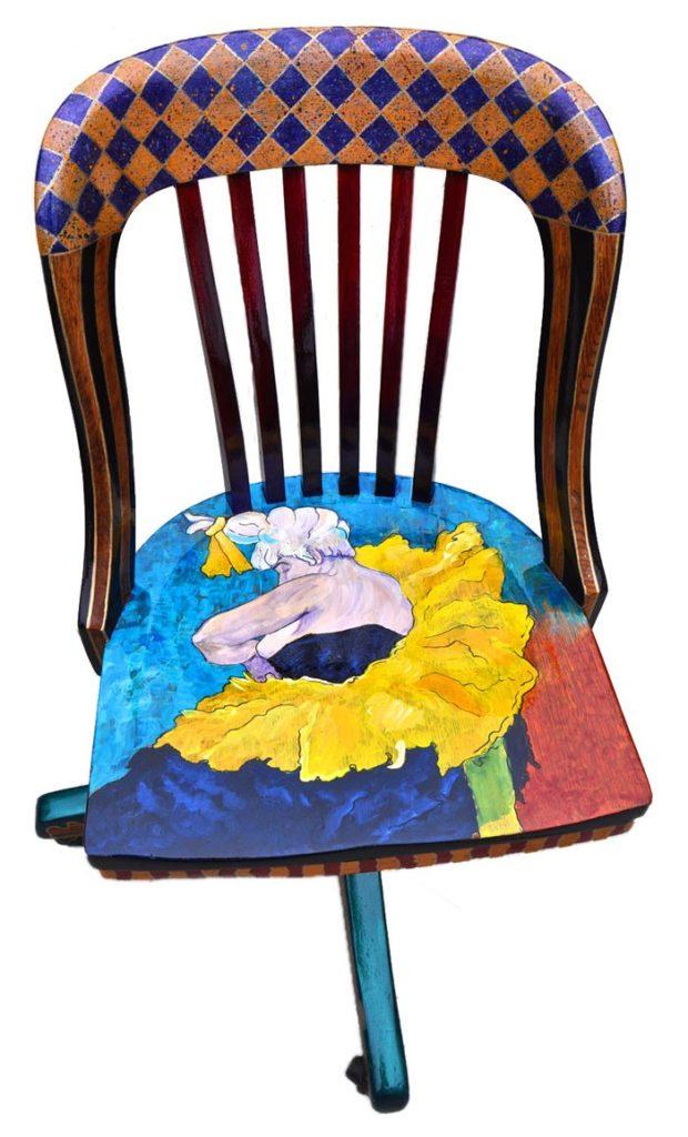 πώς να διακοσμήσετε και να βάψετε παλιές καρέκλες14