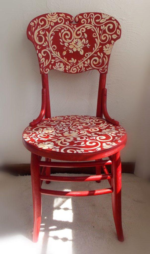 πώς να διακοσμήσετε και να βάψετε παλιές καρέκλες17