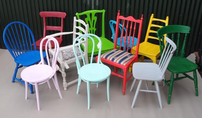 πώς να διακοσμήσετε και να βάψετε παλιές καρέκλες27