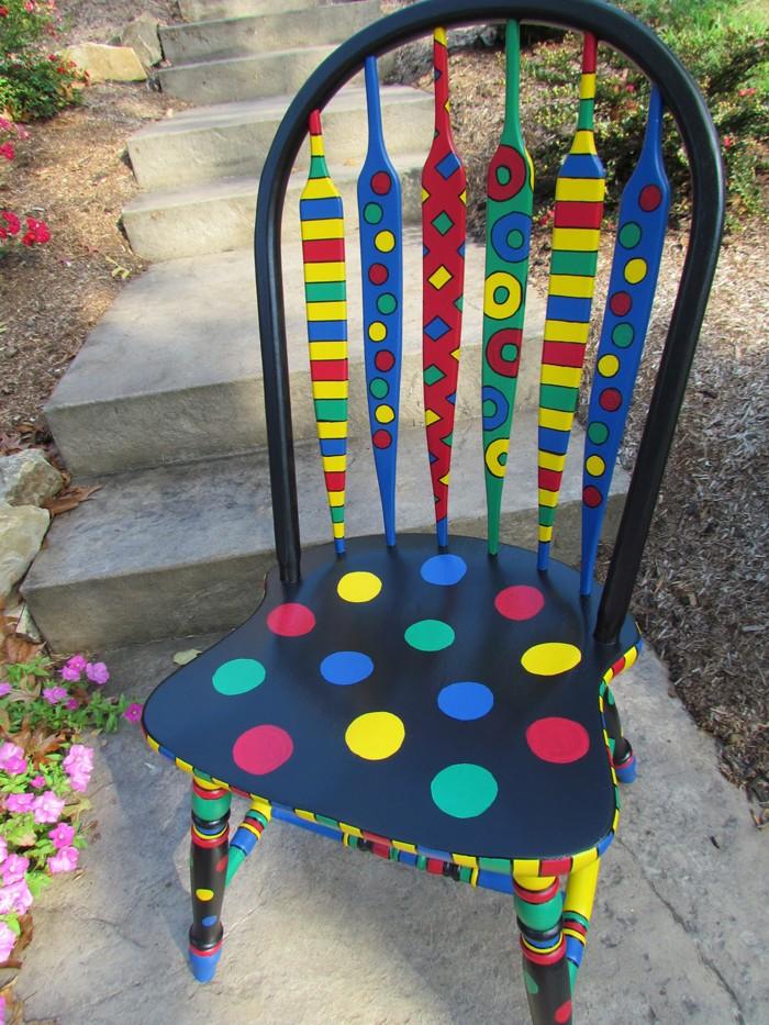 πώς να διακοσμήσετε και να βάψετε παλιές καρέκλες28
