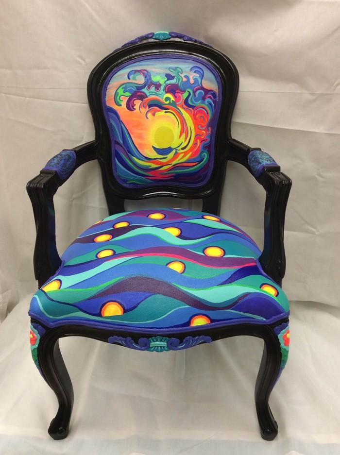 πώς να διακοσμήσετε και να βάψετε παλιές καρέκλες30