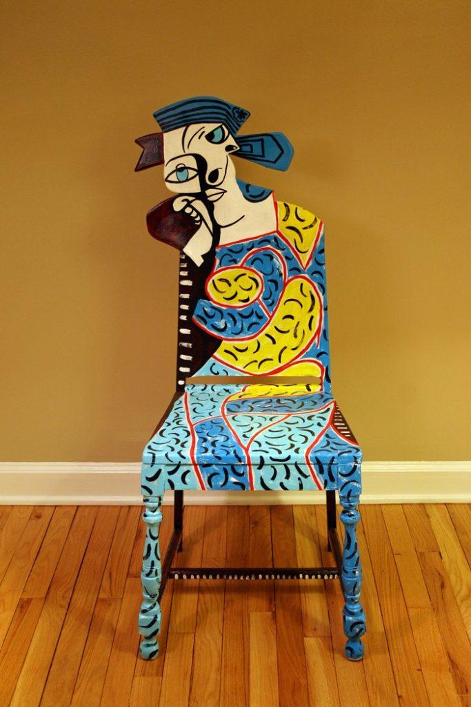 πώς να διακοσμήσετε και να βάψετε παλιές καρέκλες32