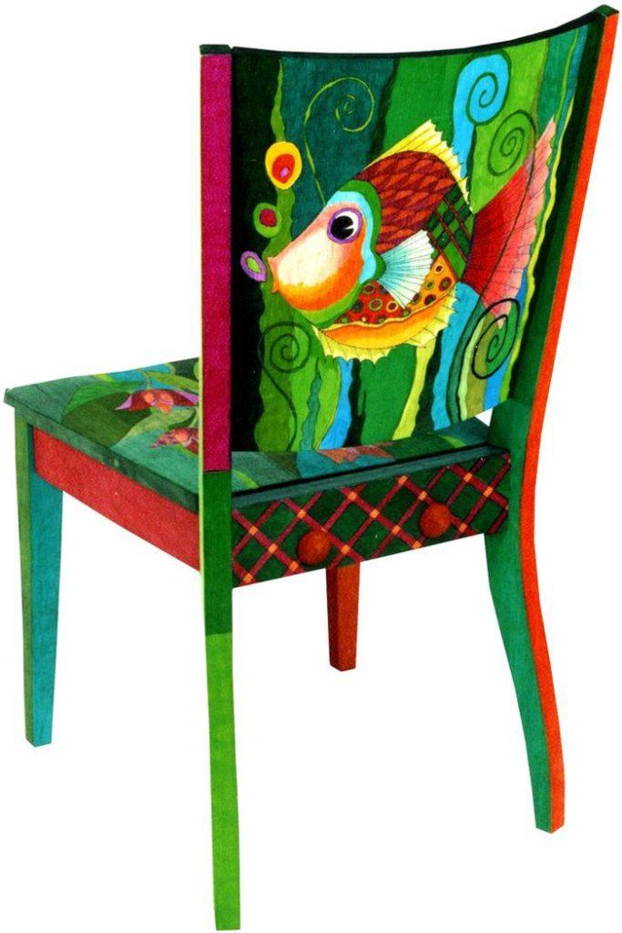 πώς να διακοσμήσετε και να βάψετε παλιές καρέκλες33