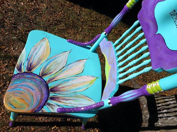 πώς να διακοσμήσετε και να βάψετε παλιές καρέκλες34