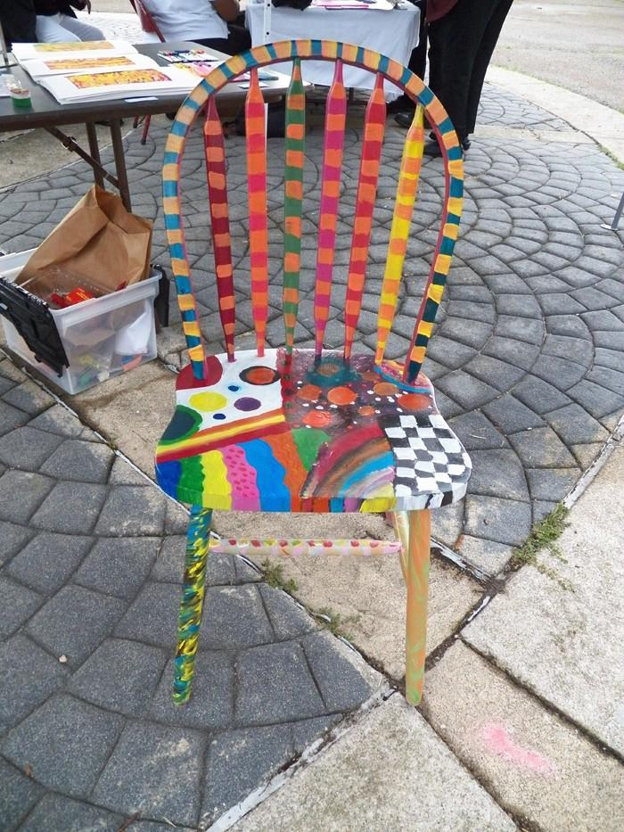 πώς να διακοσμήσετε και να βάψετε παλιές καρέκλες35