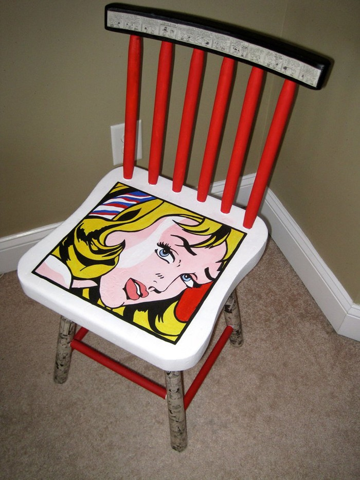 πώς να διακοσμήσετε και να βάψετε παλιές καρέκλες36