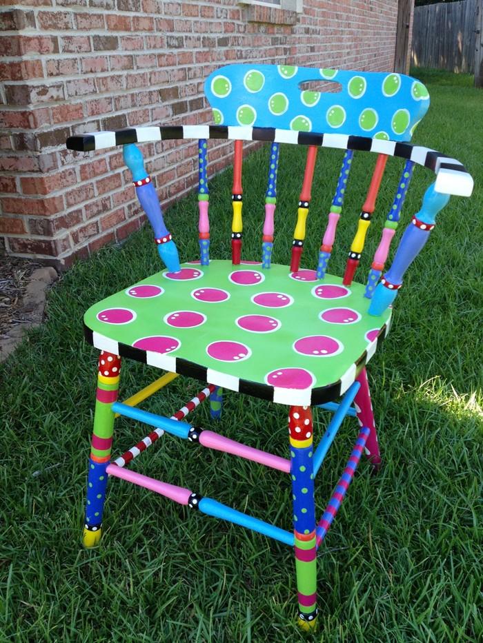 πώς να διακοσμήσετε και να βάψετε παλιές καρέκλες37