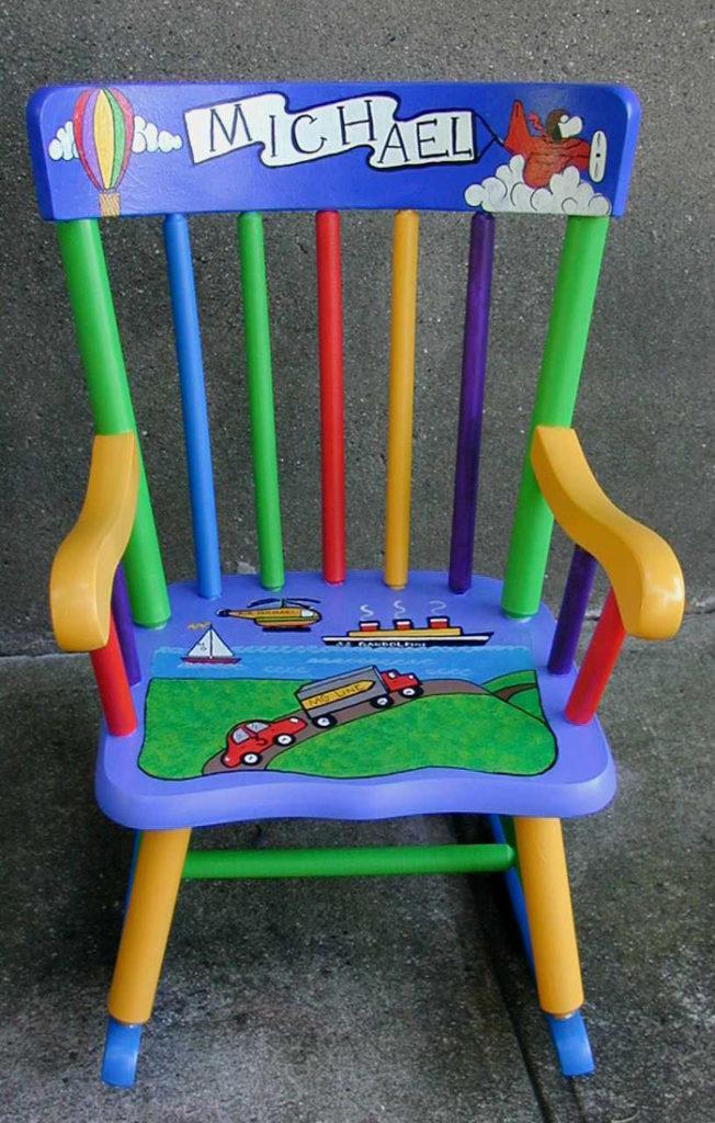 πώς να διακοσμήσετε και να βάψετε παλιές καρέκλες4