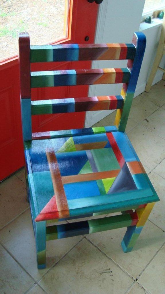 πώς να διακοσμήσετε και να βάψετε παλιές καρέκλες40
