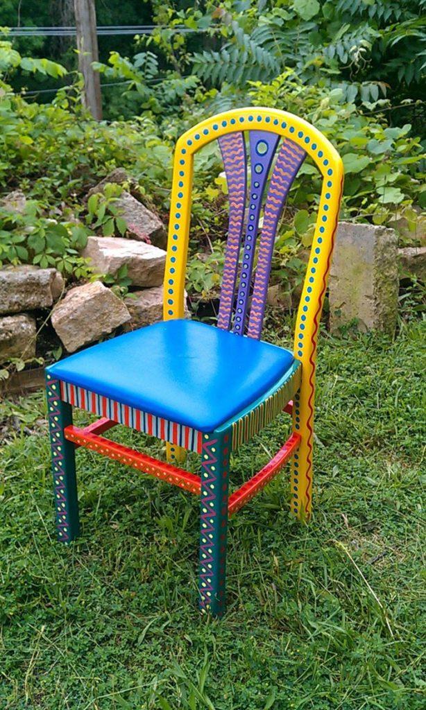 πώς να διακοσμήσετε και να βάψετε παλιές καρέκλες5