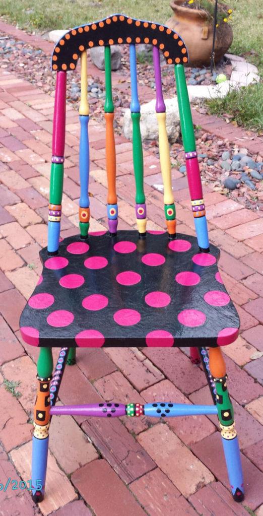 πώς να διακοσμήσετε και να βάψετε παλιές καρέκλες6