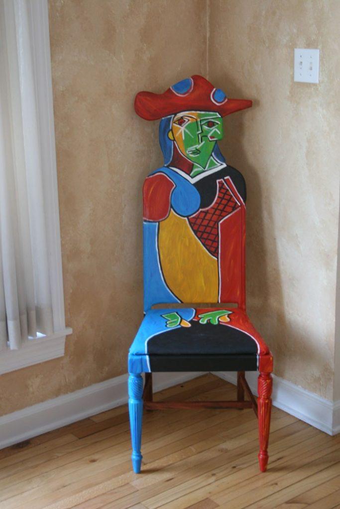 πώς να διακοσμήσετε και να βάψετε παλιές καρέκλες7