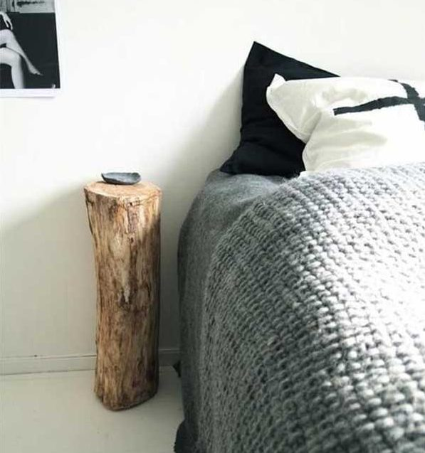 DIY ιδέες διακοσμήσης από κούτσουρα17