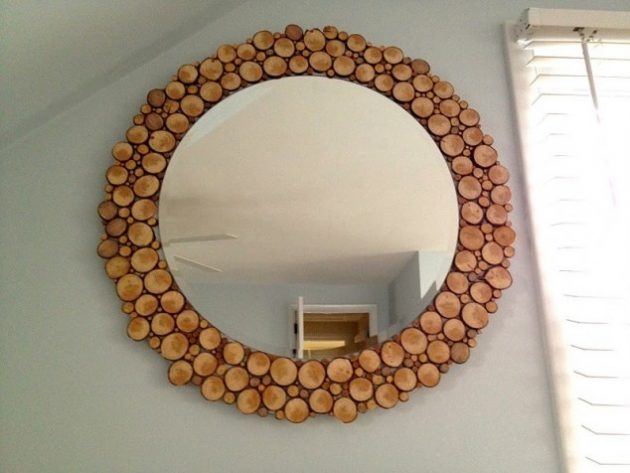 DIY ιδέες διακοσμήσης από κούτσουρα2