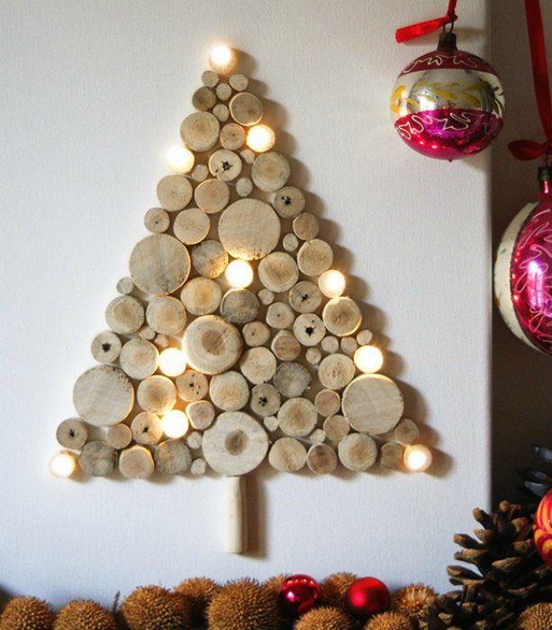 DIY ιδέες διακοσμήσης από κούτσουρα4