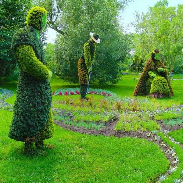 Αριστουργηματικές διακοσμήσεις κήπων11