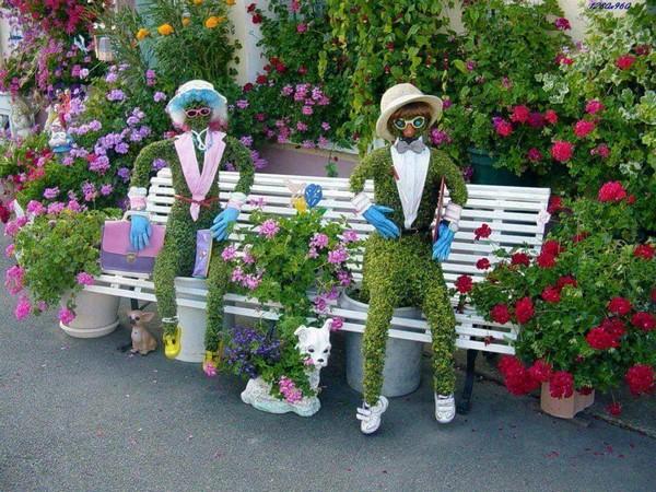 Αριστουργηματικές διακοσμήσεις κήπων12