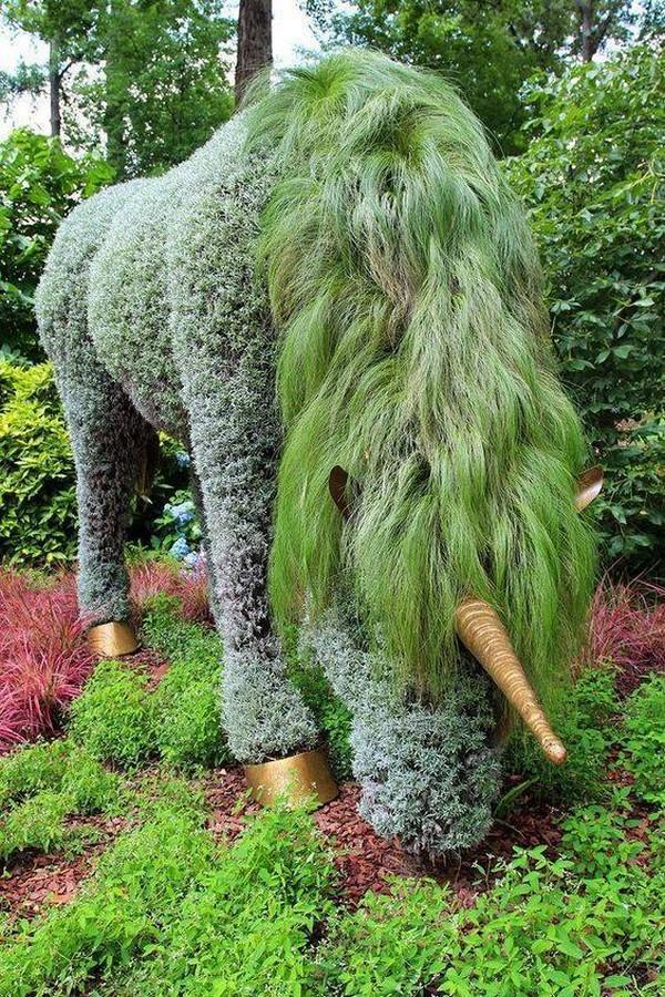 Αριστουργηματικές διακοσμήσεις κήπων7