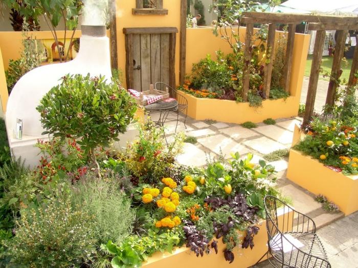 Μεσογειακός κήπος ιδέες30