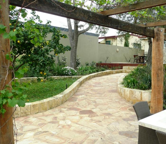 Μεσογειακός κήπος ιδέες43
