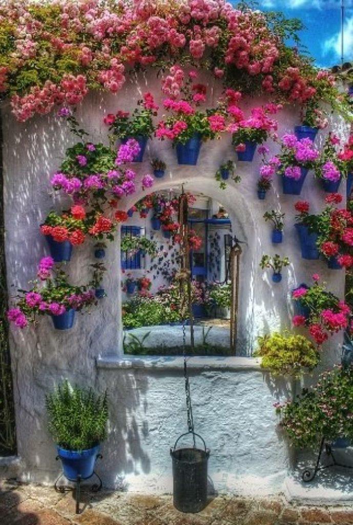 Μεσογειακός κήπος ιδέες45