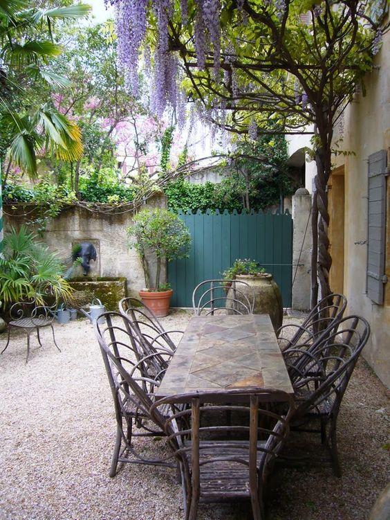 Μεσογειακός κήπος ιδέες51
