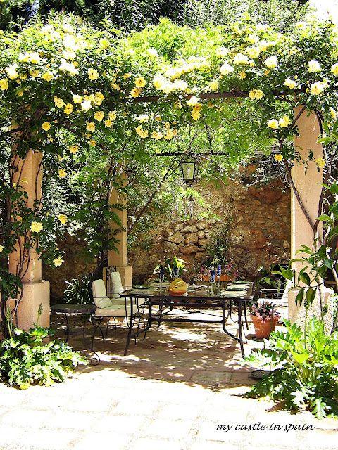 Μεσογειακός κήπος ιδέες52