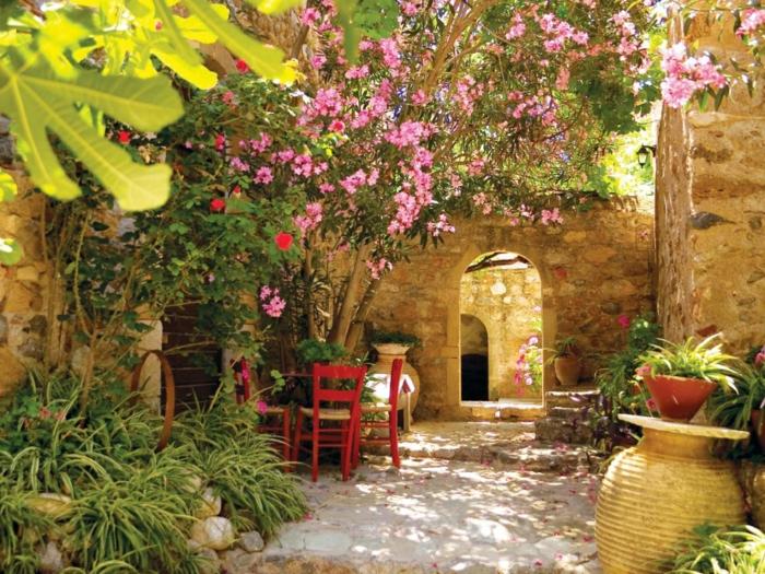 Μεσογειακός κήπος ιδέες8