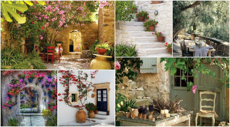 Μεσογειακός κήπος σε 70 εικόνες - ένα πρότυπο για το πώς να δημιουργήσετε ατμόσφαιρα διακοπών και ευεξίας στον κήπο σας