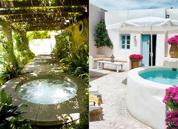 μικρή πισίνα στον κήπο13