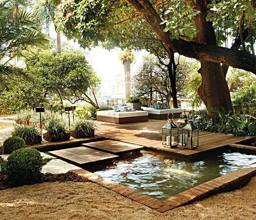 μικρή πισίνα στον κήπο15