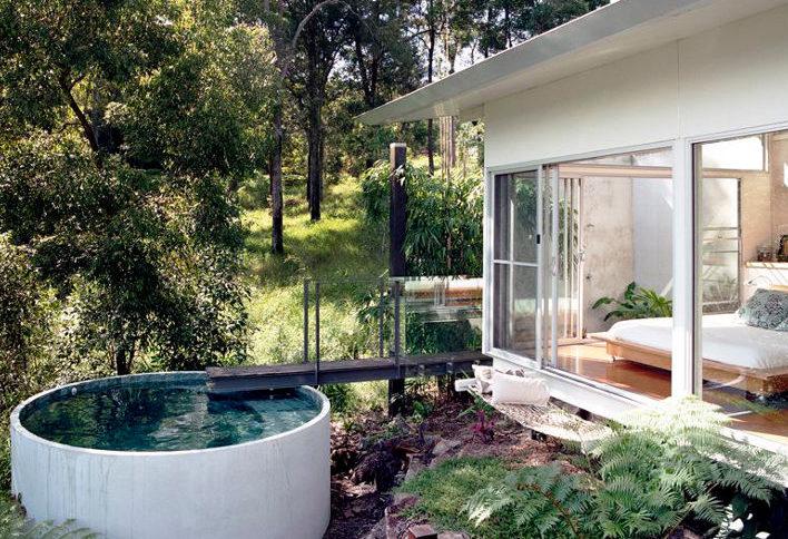 μικρή πισίνα στον κήπο19