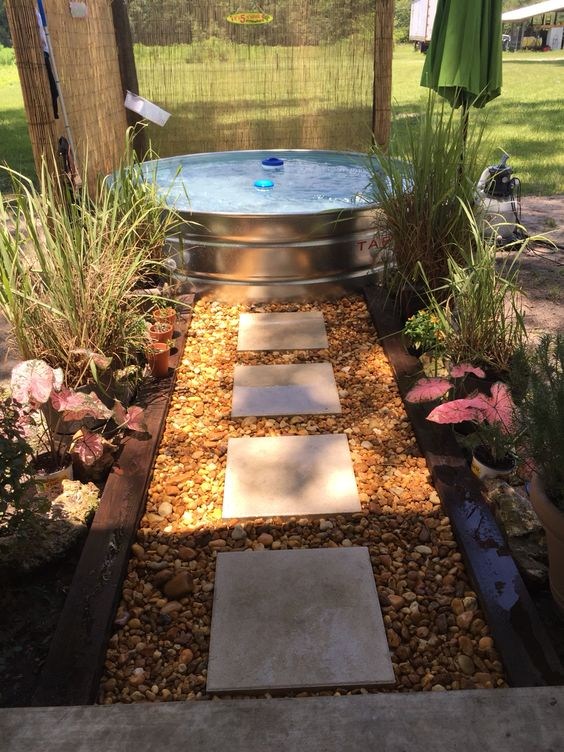 μικρή πισίνα στον κήπο20
