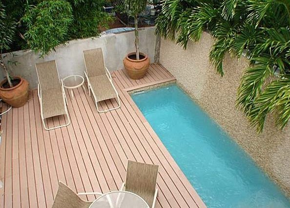 μικρή πισίνα στον κήπο24